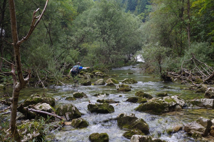 Slovenia Fly Fishing 1