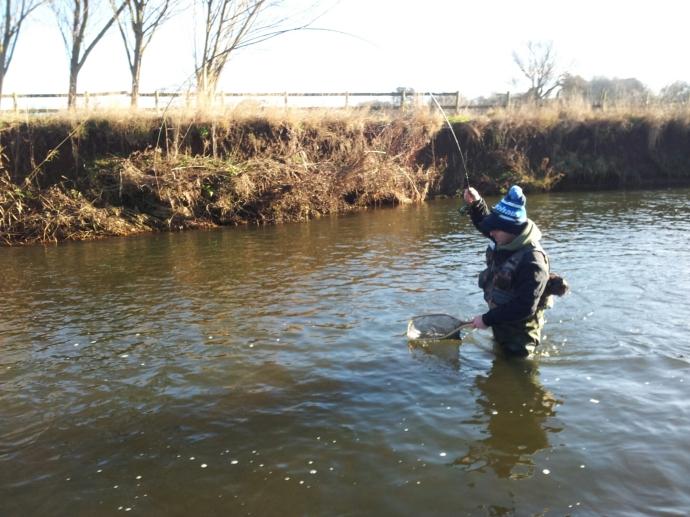 My fishing buddy Jason borrowed my ESN for