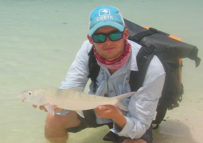 My First Desroches Bonefish!