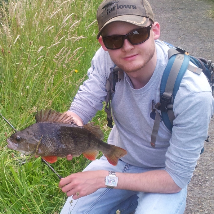 A 2lb perch within a stones throw of my front door. I definitely count this as one of my greatest angling achievements.