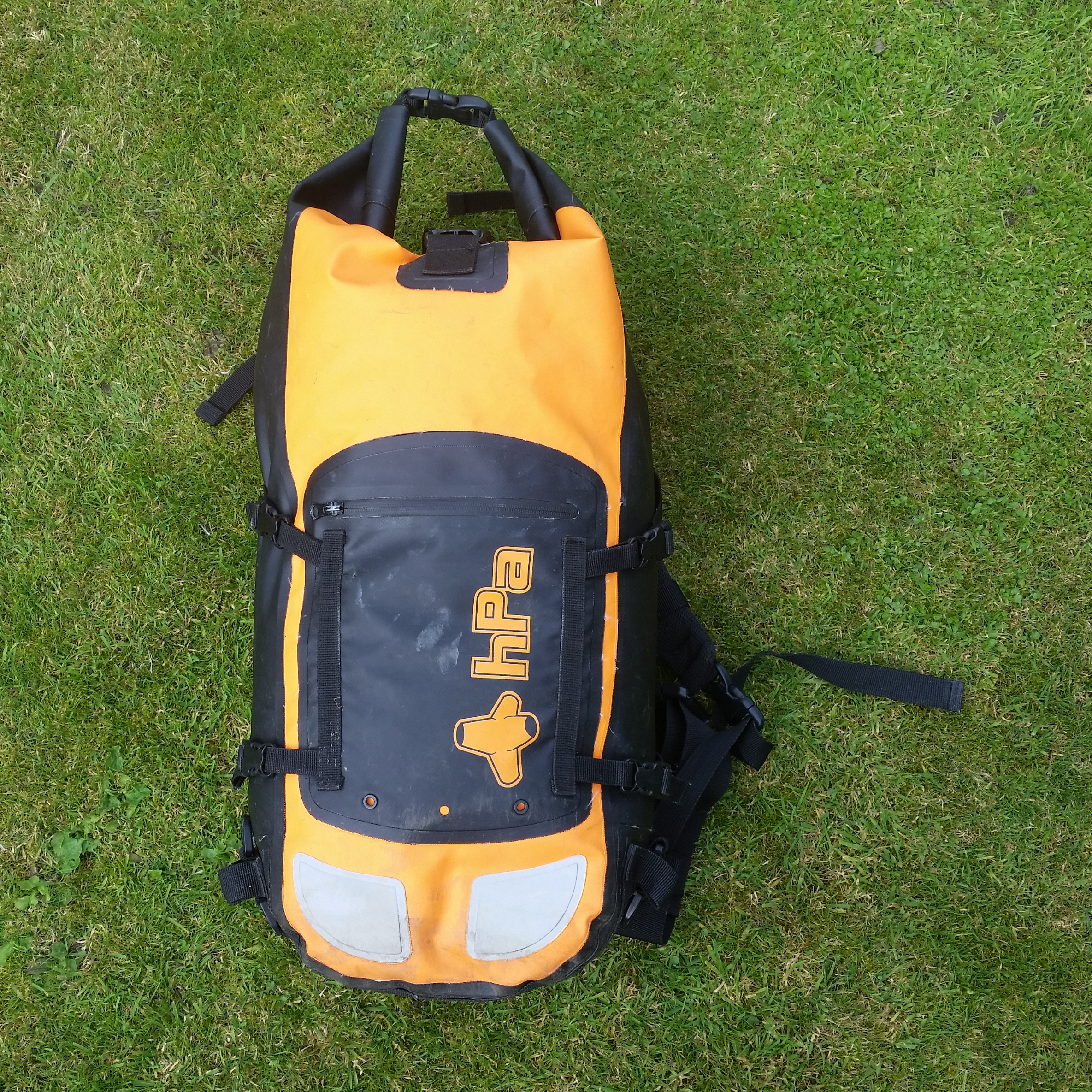 HPA Dry BassPack 40l Waterproof Back Pack Review | The Incompleat ...