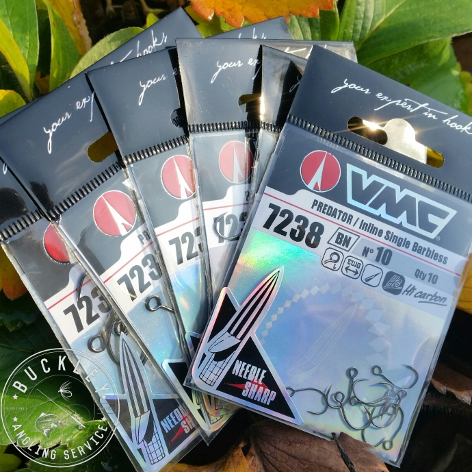 VMC 7238 LURE HOOK