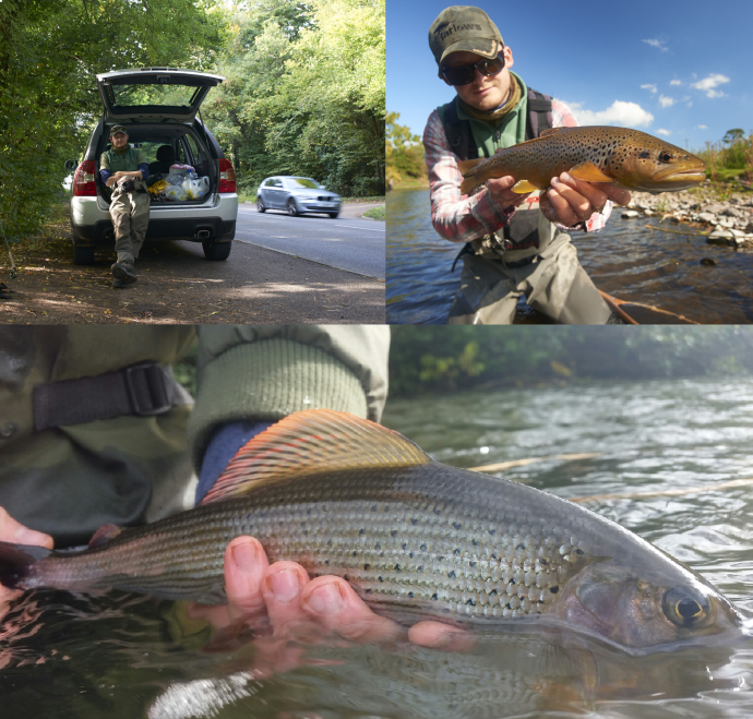 uk fly fishing blog trout grayling