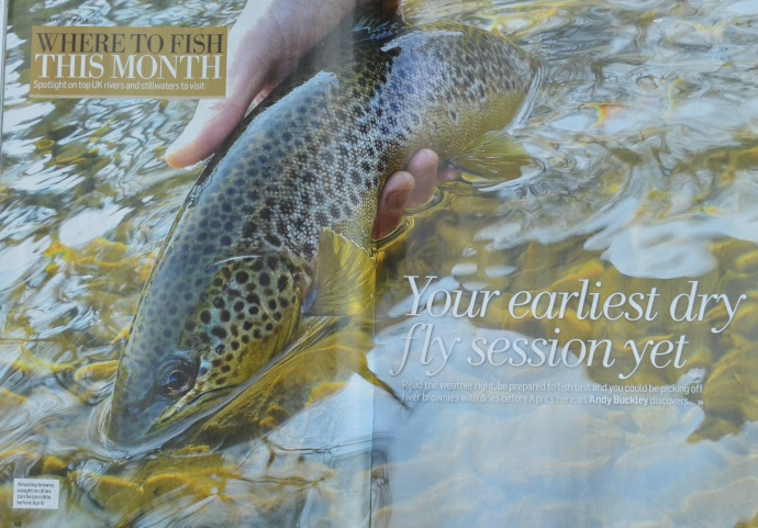 Trout Fly Fishing Wales Usk