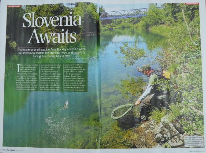 Slovenia Guide Fly Fishing Grayling Trout